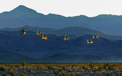 Blackhawk formation 04 - Nevada desert