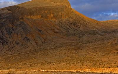 Nevada desert mountain