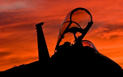 F15 at sunset 02