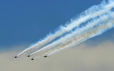 Thunderbirds practice