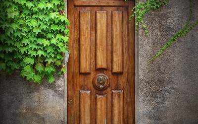 Door in Erice